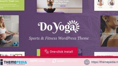 Do Yoga – Fitness Studio & Pilates Club WordPress Theme [Latest Version]