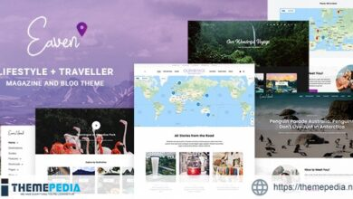 Eaven – Lifestyle & Traveller Magazine and Blog theme [Free download]