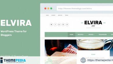 Elvira – WordPress Theme for Bloggers [Free download]