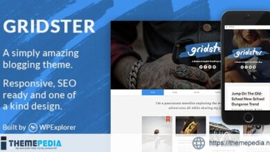 Gridster – A Responsive WordPress Blog Theme [Updated Version]
