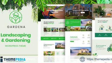 Gardena – Landscaping & Gardening [nulled]