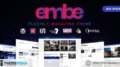 EmBe – Flexible Magazine WordPress Theme [Free download]
