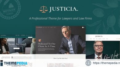 Justicia – Lawyer and Law Firm Theme [Free download]
