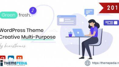 GreenFresh – Creative Multiuse WordPress Theme [nulled]
