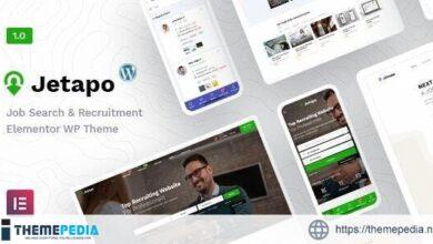 Jetapo – Jobboard WordPress Theme [Free download]