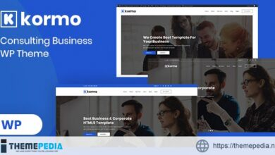 Kormo – Consulting Business WordPress Theme [nulled]