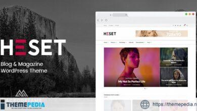 Heset – Blog – Magazine WordPress Theme [Updated Version]