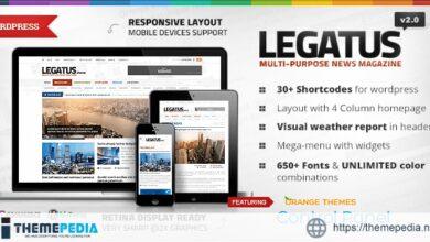 Legatus – Responsive News-Magazine Theme [Free download]