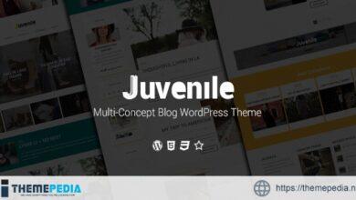 Juvenile – Multi-Concept Blog WordPress Theme [Updated Version]