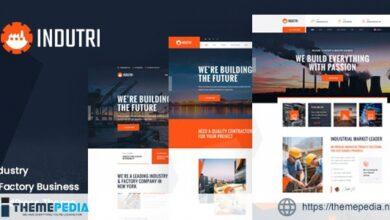 Indutri – Factory & Industrial WordPress Theme [Free download]