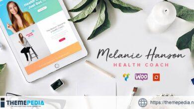 Health Coach Blog & Lifestyle Magazine WordPress Theme [Free download]