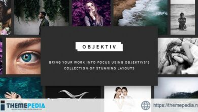 Objektiv – Photography Theme [Free download]