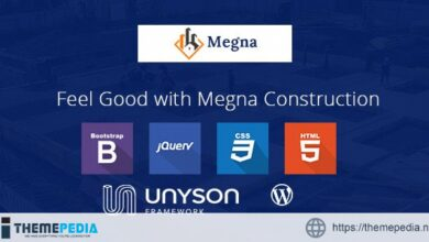 Megna Construction and Architecture WordPress Theme [Free download]