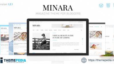 Minara – WordPress Magazine Theme for Bloggers [Latest Version]
