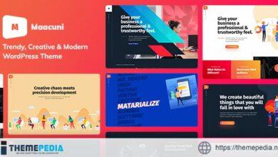 Maacuni – Multipurpose Creative Portfolio WordPress Theme [Free download]