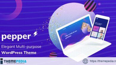 Pepper – Elegent Multi Purpose WordPress Theme [Updated Version]