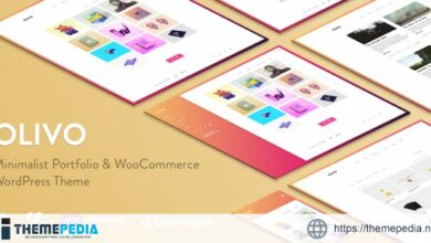 Olivo – Minimalist Portfolio & WooCommerce Theme [Free download]