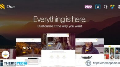 One – Business Agency Events WooCommerce Theme [Latest Version]