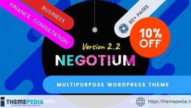Negotium – Multipurpose Business WordPress Template [nulled]