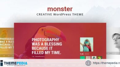 Monster Creative Theme [Free download]