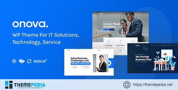 Onova – IT Solutions & Services Company WordPress [Free download]