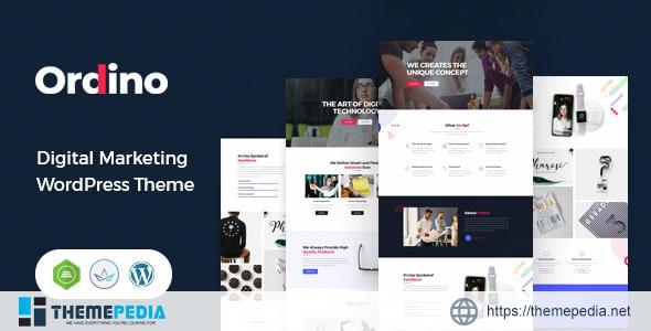 Ordino – Digital Marketing WordPress Theme [Updated Version]