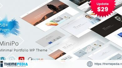 MiniPo – Multipurpose Minimal Portfolio WordPress Theme [Free download]