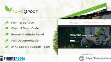 NuvaGreen – Landscape & Gardening WordPress Theme [nulled]