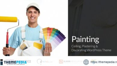 Painting – Ceiling & Decorating WordPress Theme [Free download]
