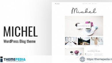 Michel – Clean WordPress Blog Theme [Free download]