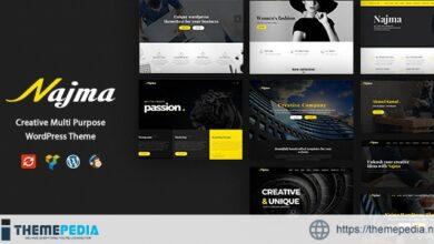 Najma – Creative Multi-Purpose WordPress Theme [Free download]