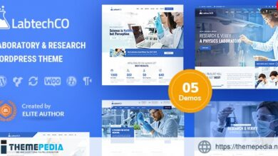 LabtechCO – Laboratory & Science Research WordPress Theme [Free download]