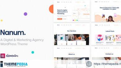 Nanum — Digital & Marketing Agency WordPress Theme [Latest Version]