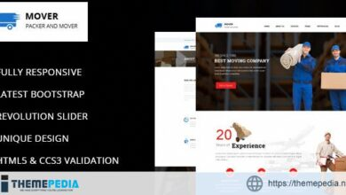 Mover – Company WordPress Theme [nulled]