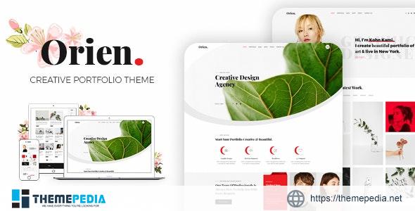 Orien – Creative Portfolio WordPress Theme [Free download]