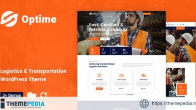Optime – Logistics & Transportation WordPress Theme [Free download]