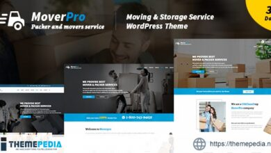 Mover Pro – WordPress Theme for Packers & Movers [Free download]