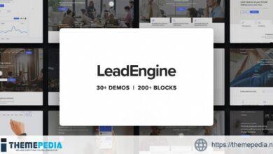 LeadEngine – Multi-Purpose WordPress Theme with Page Builder [Free download]