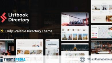 Listbook – WordPress Directory Listing Theme [Free download]