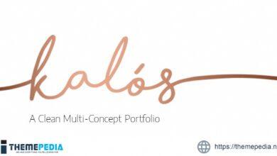 Kalόs – Portfolio WordPress Theme [Latest Version]