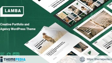 Lamba – Creative Portfolio & Agency WordPress Theme [Updated Version]