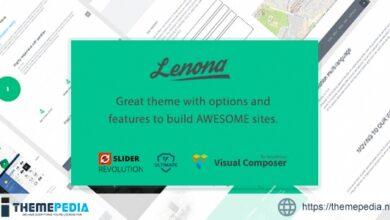 Lenona Multipurpose Business WordPress theme [Updated Version]