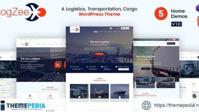 Logzee – Logistics, Transportation, Cargo WordPress Theme [Free download]