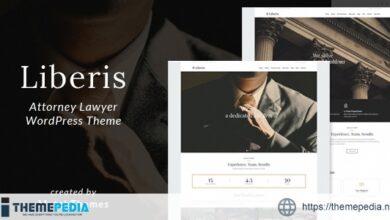 Liberis – Attorney Lawyer WordPress Theme [Latest Version]