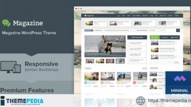 Magazine – Responsive Multi Purpose & Magazine WordPress Theme [Updated Version]