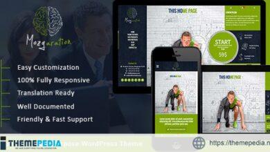Mozgaration – Responsive Multi-Purpose WordPress Theme [Free download]