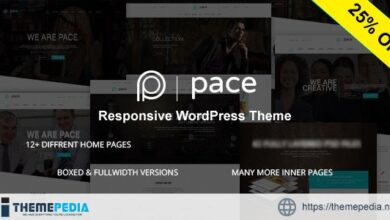 Pace – Responsive MultiPurpose Theme [Updated Version]
