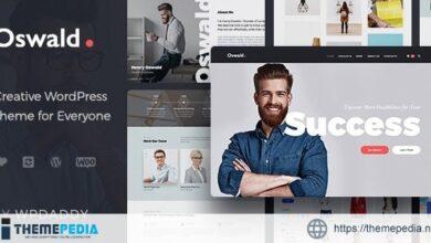 Oswald – Creative Multi-Purpose Responsive WordPress Theme [Free download]