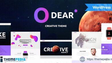 Odear – Multi-Concept Creative WordPress Theme [Updated Version]