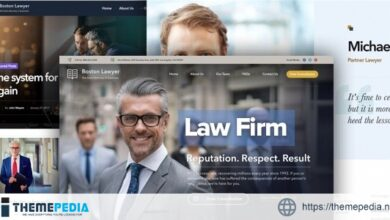 Lawyer – Law firm and Legal Attorney WordPress Theme [Latest Version]